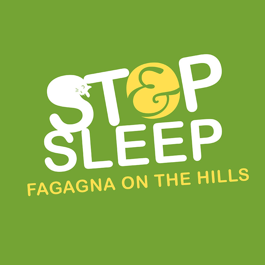 STOP&SLEEP Fagagna on the Hills Logo