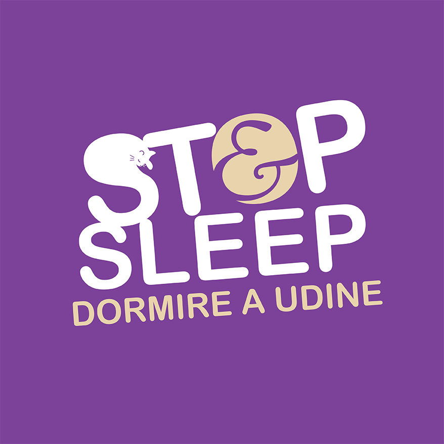 Logo Stop Sleep Udine Fronte Stazione