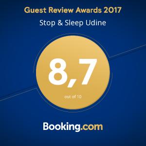 Stop&Sleep Udine Stazione Booking Award 2017