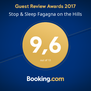 Stop&Sleep Udine Fagagna Booking Award 2017