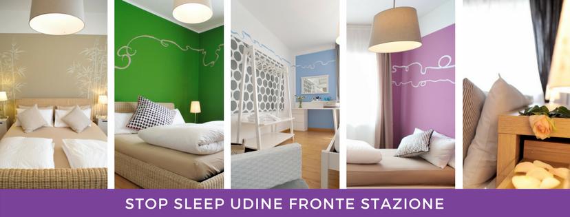 Stop&sleep camere fronte stazione di Udine