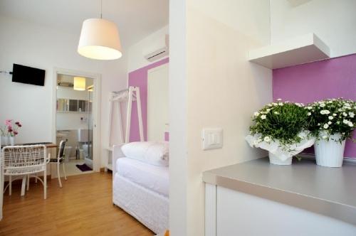 Cucina Camera/Monolocale Siena Stop&Sleep Udine Fronte Ospedale