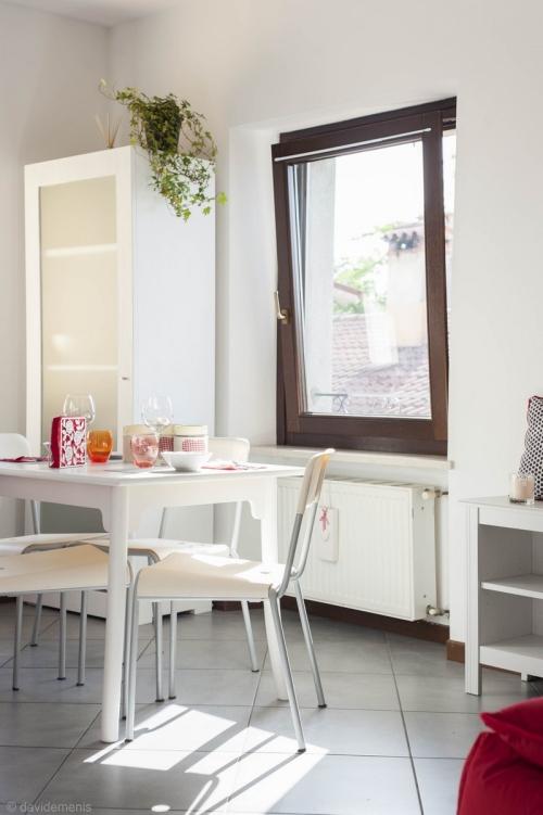 Cucina dell'appartamento a San Daniele