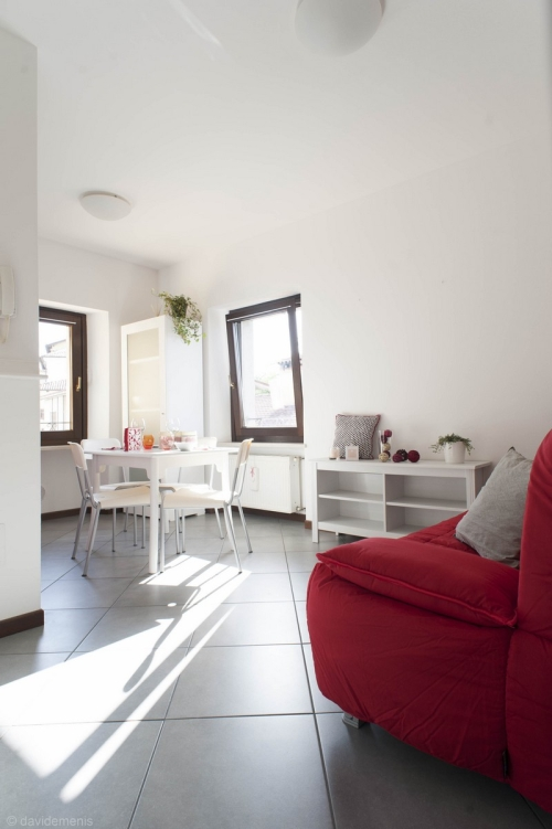 Zona relax dell'appartamento a San Daniele