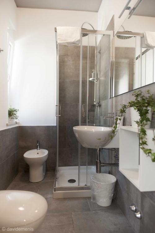 Bagno privato della camera Ravenna - Sleep In Udine B&B Fronte Stazione