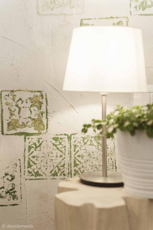 Camera Sanremo - dettaglio decorazione