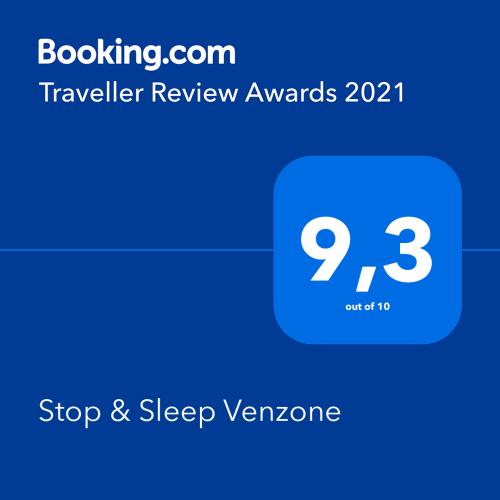 Premio di Booking Traveller Review Awards 2021 a Stop & Sleep Venzone
