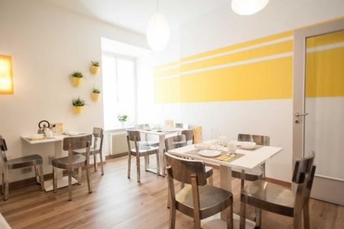 Cucina e sala da pranzo Stop&Sleep Venzone